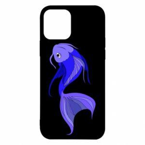 Etui na iPhone 12/12 Pro Lilac fish