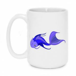 Kubek 450ml Lilac fish - PrintSalon