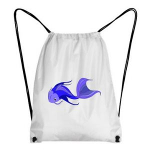 Backpack-bag Lilac fish