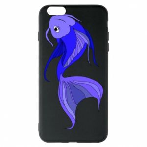 Etui na iPhone 6 Plus/6S Plus Lilac fish - PrintSalon