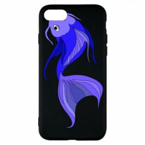 Etui na iPhone 7 Lilac fish