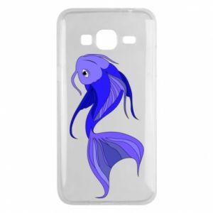 Etui na Samsung J3 2016 Lilac fish