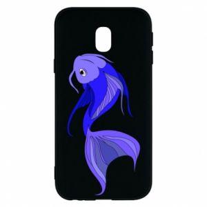 Etui na Samsung J3 2017 Lilac fish