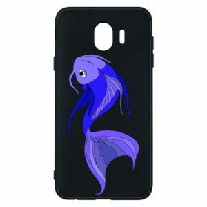 Etui na Samsung J4 Lilac fish
