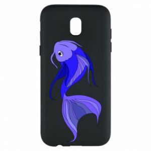 Etui na Samsung J5 2017 Lilac fish