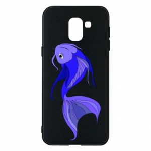 Etui na Samsung J6 Lilac fish