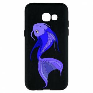 Etui na Samsung A5 2017 Lilac fish