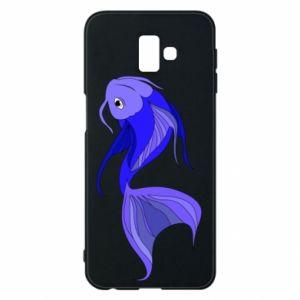 Etui na Samsung J6 Plus 2018 Lilac fish