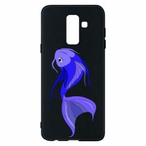 Etui na Samsung A6+ 2018 Lilac fish