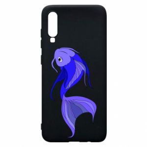 Etui na Samsung A70 Lilac fish
