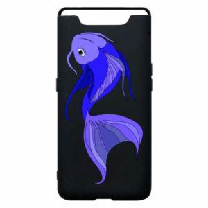 Etui na Samsung A80 Lilac fish