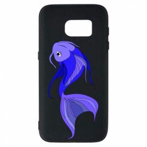 Etui na Samsung S7 Lilac fish