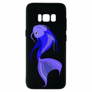 Etui na Samsung S8 Lilac fish