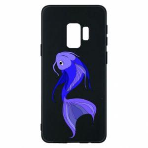Etui na Samsung S9 Lilac fish