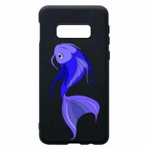 Etui na Samsung S10e Lilac fish