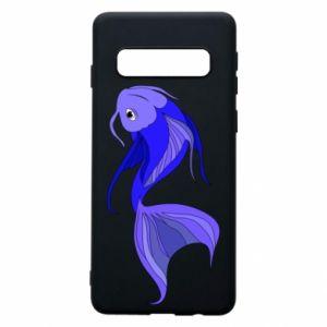 Etui na Samsung S10 Lilac fish