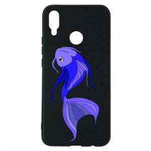 Etui na Huawei P Smart Plus Lilac fish - PrintSalon