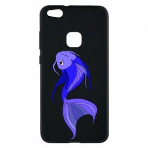 Etui na Huawei P10 Lite Lilac fish