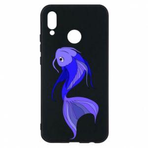 Etui na Huawei P20 Lite Lilac fish