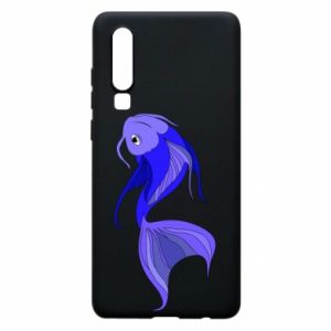 Etui na Huawei P30 Lilac fish