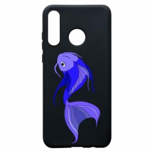 Etui na Huawei P30 Lite Lilac fish