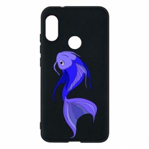 Etui na Mi A2 Lite Lilac fish