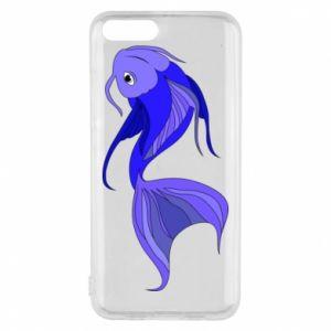 Etui na Xiaomi Mi6 Lilac fish