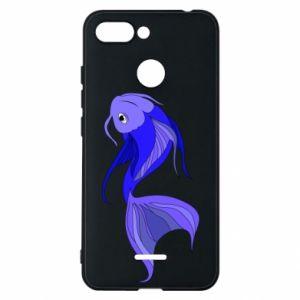 Etui na Xiaomi Redmi 6 Lilac fish