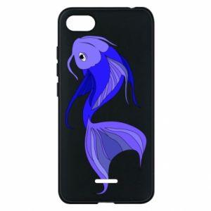 Etui na Xiaomi Redmi 6A Lilac fish