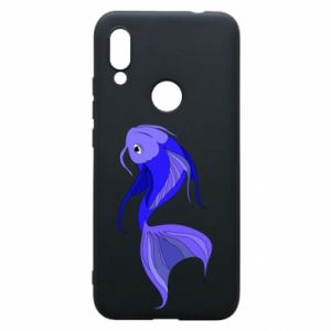 Etui na Xiaomi Redmi 7 Lilac fish