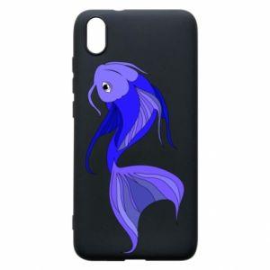 Etui na Xiaomi Redmi 7A Lilac fish