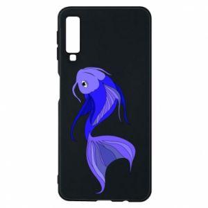 Etui na Samsung A7 2018 Lilac fish