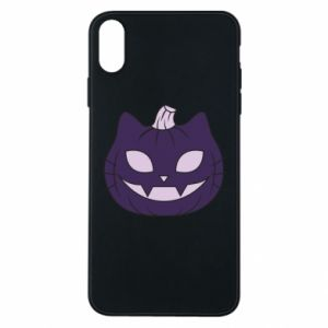 Phone case for iPhone Xs Max Lilac pumpkin