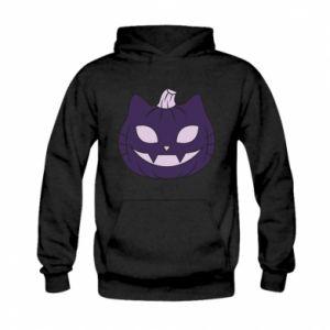 Bluza z kapturem dziecięca Lilac pumpkin