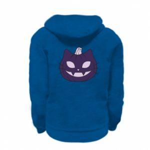 Bluza na zamek dziecięca Lilac pumpkin