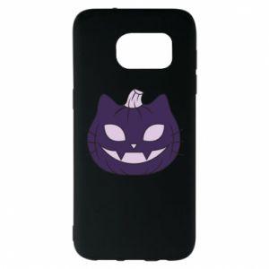 Etui na Samsung S7 EDGE Lilac pumpkin