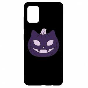 Etui na Samsung A51 Lilac pumpkin
