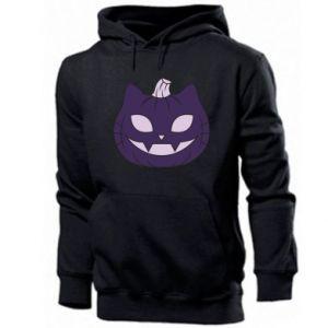 Men's hoodie Lilac pumpkin