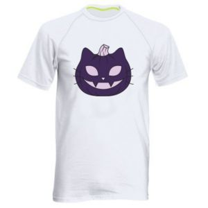 Męska koszulka sportowa Lilac pumpkin