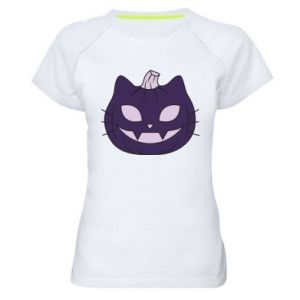 Damska koszulka sportowa Lilac pumpkin