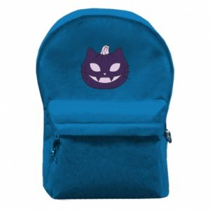 Backpack with front pocket Lilac pumpkin