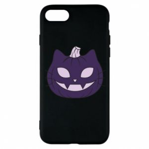 Phone case for iPhone 8 Lilac pumpkin