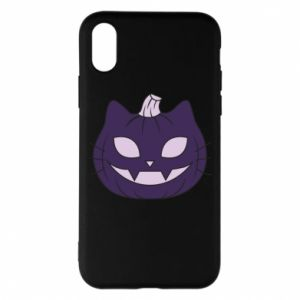 Phone case for iPhone X/Xs Lilac pumpkin