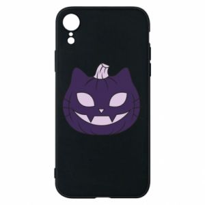 Phone case for iPhone XR Lilac pumpkin
