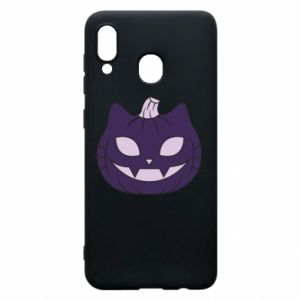 Etui na Samsung A20 Lilac pumpkin