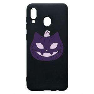 Etui na Samsung A30 Lilac pumpkin
