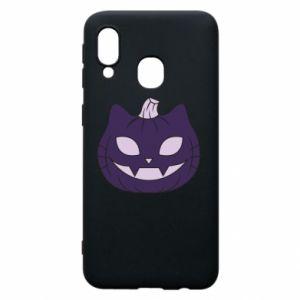 Etui na Samsung A40 Lilac pumpkin