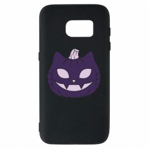 Phone case for Samsung S7 Lilac pumpkin