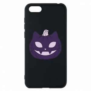 Phone case for Huawei Y5 2018 Lilac pumpkin