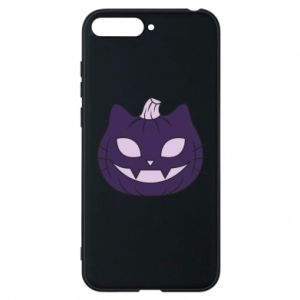 Phone case for Huawei Y6 2018 Lilac pumpkin